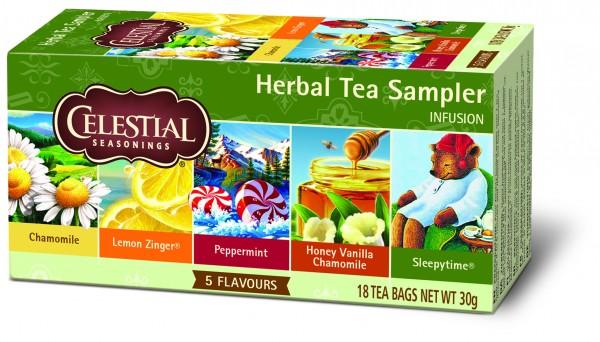 Herbal Tea Sampler Retail Pack (6 x 27 g)